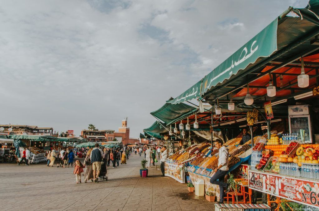 Mercado en Marrakech
