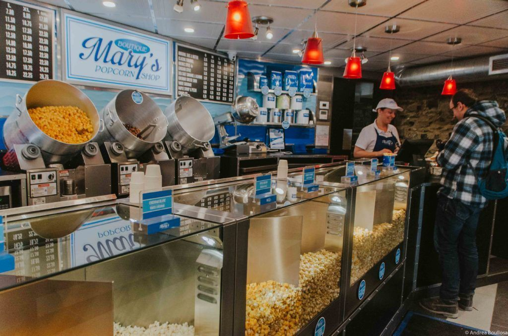Mary's Popcorns Shop