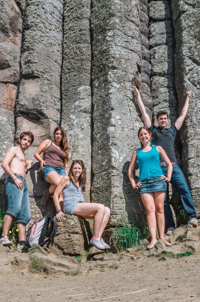 Excursión a la calzada del gigante, Irlanda del Norte